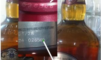 Hướng dẫn cách phân biệt rượu Chivas thật và Chivas giả