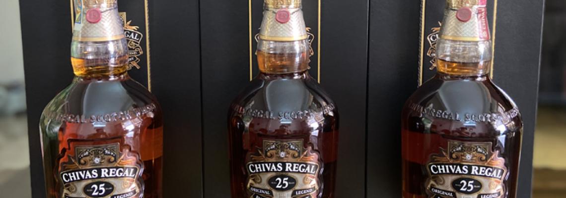 Cách phân biệt Rượu Chivas 25 thật giả