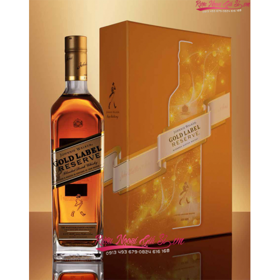 Johnnie Walker Gold Label Hộp Quà Tết 2021