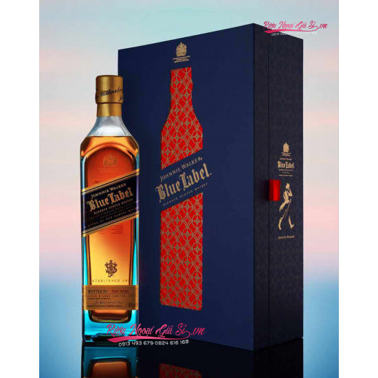 Johnnie Walker Blue Label Hộp Quà Tết 2021