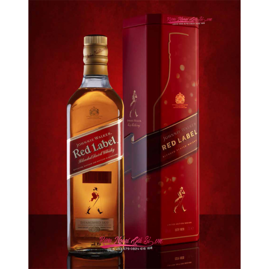 Johnnie Walker Red Label Hộp Quà Tết 2021