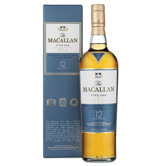 Macallan 12 YO Fine Oak