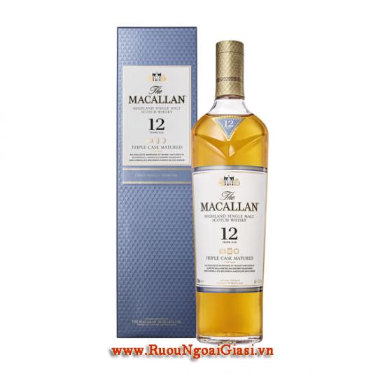 Macallan 12 YO Triple Cask