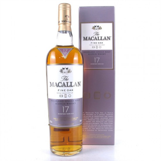 Macallan Fine Oak 17 years Old