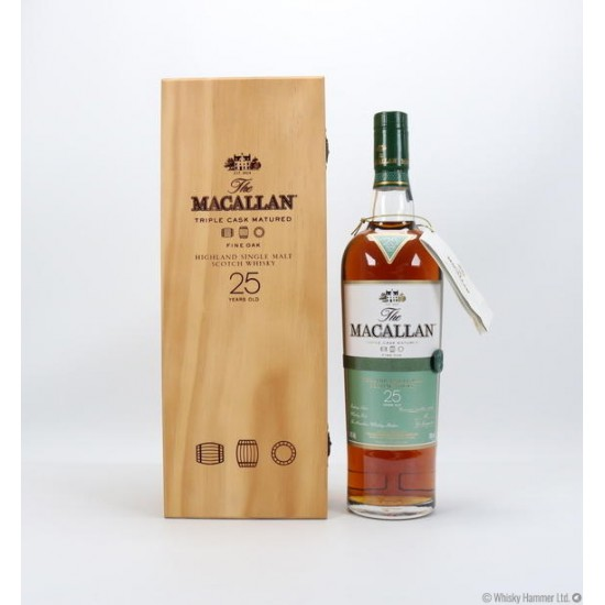 Macallan Fine Oak 25 years old