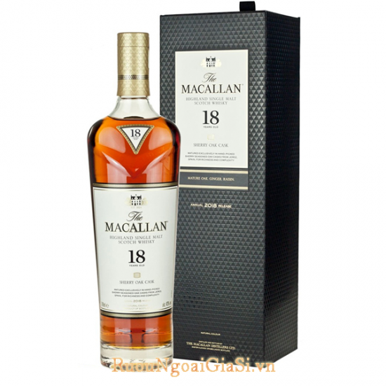 Macallan Sherry Oak 18 years