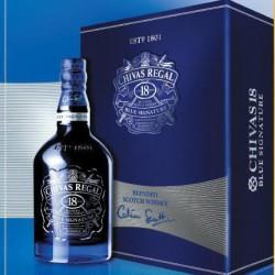 Rượu Chivas 18 năm xanh hộp quà Tết 2019