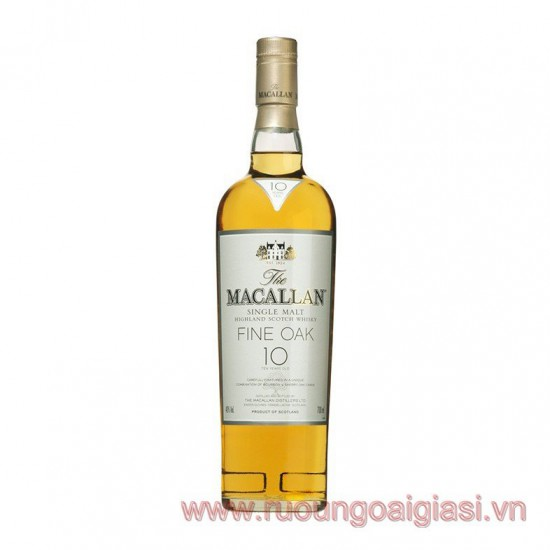Macallan Fine Oak 10 Years Old