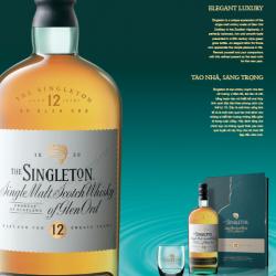 Singleton 12 năm hộp quà